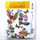 Fairy Costumes Childrens Girls McCalls Sewing Pattern M6138