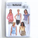 Misses Petite Pullover Top Belt Size 20 - 24 Butterick Sewing Pattern B4132