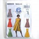 Misses Petite Dress Skirt Size 8 - 14 Butterick Sewing Pattern B4443