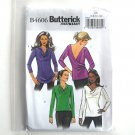 Misses Top Pullover Fast Easy Out of Print Butterick Sewing Pattern B4606