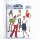 Misses Shorts Pants XS S M Fashion Express Easy Butterick Pattern B5044