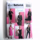 Misses Jacket Top Dress Skirt 16 - 24 Butterick Lifestyle Pattern B5147