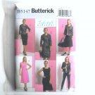 Lifestyle Misses Petite Jacket Top Dress Skirt 8 - 14 Butterick Pattern B5147