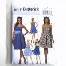Misses Strapless Dress Size 14 - 20 Butterick Pattern B5457