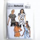 Misses Top Sash Tunic Size 16 - 22 Butterick Pattern B5463