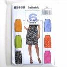 Misses Skirts Belt 8 - 14 Butterick 6 Sew Easy Pattern B5466