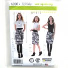Misses Easy Knit Tank Top Multitaskers Simplicity Sewing Pattern 1256
