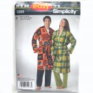 Adults Robe XS - XL Easy Simplicity Sewing Pattern 1268