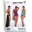 Misses Swimsuits Wrap Skirt Mimi G Style 10 12 14 16 18 Simplicity Sewing Pattern 1116