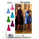 Misses Special Occasion Dresses 12 - 20 Simplicity Sewing Pattern D0530