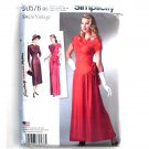 Misses Womens Vintage 1940s Gown Dress 14 - 22 Simplicity Sewing Pattern D0576