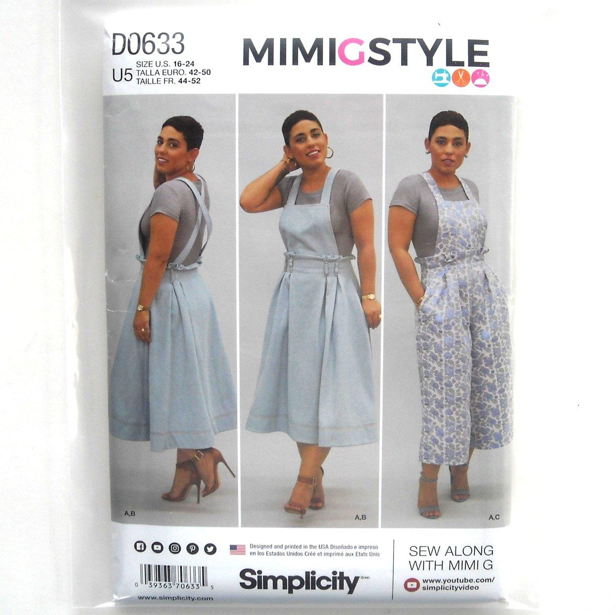 Simplicity 9114 Misses MiMi G Dress Top Pants Sewing Pattern 16-24