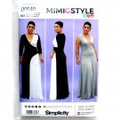 Misses Womens Knit Dresses Plus Sizes Mimi G Simplicity Sewing Pattern D0640
