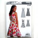 Misses Summer Dresses 8 - 20 New Look Simplicity Sewing Pattern D0620