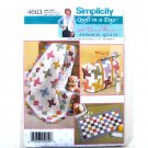 Diaper Bag Baby Changing Pad Quilt In A Day Eleanor Burns Simplicity Pattern 4663