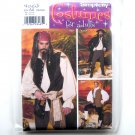 Caribbean Pirate Adults Costumes XS - M Andrea Schewe Simplicity Pattern 4923