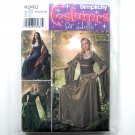 Renaissance Dress Adults Costumes Andrea Schewe Simplicity Pattern 4940