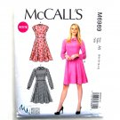 Misses Petite Collared Dresses McCalls Sewing Pattern M6989