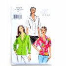 Misses Petite Shirt Size 14 - 20 Vogue Sewing Pattern V8248