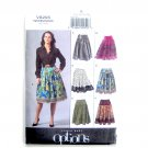 Misses Petite Skirt Size 14 - 20 Vogue Sewing Pattern V8295