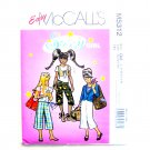 Sassy Girl Plus Jacket Vest Pants Easy McCalls Sewing Pattern M5312