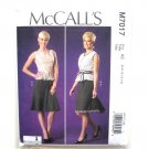 Misses Tops Skirts Designer Joi McCalls Sewing Pattern M7017