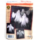 Teen Adult Ghost Costume S - L Simplicity Sewing Pattern 2486