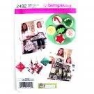 Childs Misses Apron Kitchen Accessories S - L Crafts Simplicity Pattern 2492