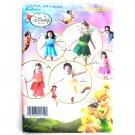 Toddler Child Disney Tinker Bell Fairies Halloween Costumes 1/2 - 4 Simplicity Pattern 2559