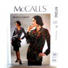 Semi Fitted Tops Belt 14 16 18 20 22 McCalls Sewing Pattern M7250