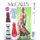 Misses Wrap Dress 14 16 18 20 22 McCalls Sewing Pattern M7119