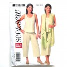 Misses Womens Top Pants 16 18 20 22 See Sew Butterick Pattern B5170