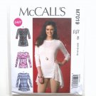 Knit Tops 6 8 10 12 14 Easy McCalls Sewing Pattern M7019