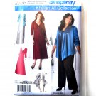 Misses Skirt Pants Jacket Dress 10 12 14 16 18 Simplicity Sewing Pattern 2336