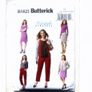 Misses Jacket Dress Skirt Pants 16 18 20 22 24 Butterick Pattern B5821