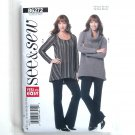 Misses Tunic Pants All Sizes Very Easy See & Sew Butterick Pattern B6272
