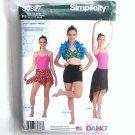 Girls & Misses Knit Dancewear Simplicity Sewing Pattern S0827