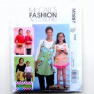 Misses Childrens Girls Aprons Pants Out of Print McCalls Sewing Pattern M5997