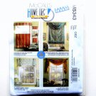 Window Treatments Shade Valances All Sizes Home Decorating McCalls Pattern M5343