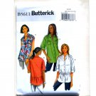 Misses Shirt Easy Size 20 - 26 Butterick Pattern B5611