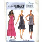 Misses Tunic & Dress Fast Easy XS - M Butterick Pattern B5637