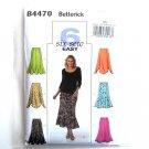 Misses Womens Skirts 6 Easy 18W - 24W  Butterick Pattern B4470