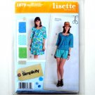 Misses Miss Petite Sportswear Dress Tops Shorts 14 - 22 Lisette Simplicity Pattern 1879