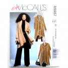Misses Unlined Coat 14 - 22 Easy McCall's Sewing Pattern M5987