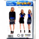 Misses Easy Knit Wardrobe Simplicity Sewing Pattern S0461