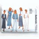Misses' Petite Jacket Top Dress Skirt Pants 6 8 10 OOP Butterick Sewing Pattern 6474