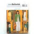 Misses Jacket Top Skirts Pants 14 16 18 Butterick Sewing Pattern 3900