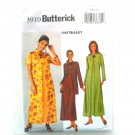 Misses' Jacket Duster Dress 8 10 12 Out Of Print Butterick Sewing Pattern 3910