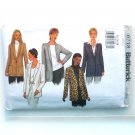 Misses Jacket 12 14 16 Butterick Sewing Pattern 6718