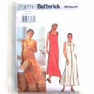 Misses Dress Duster 14 16 18 Easy Butterick Sewing Pattern 3771